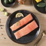 鮮嫩鮭魚腹肉(條)
